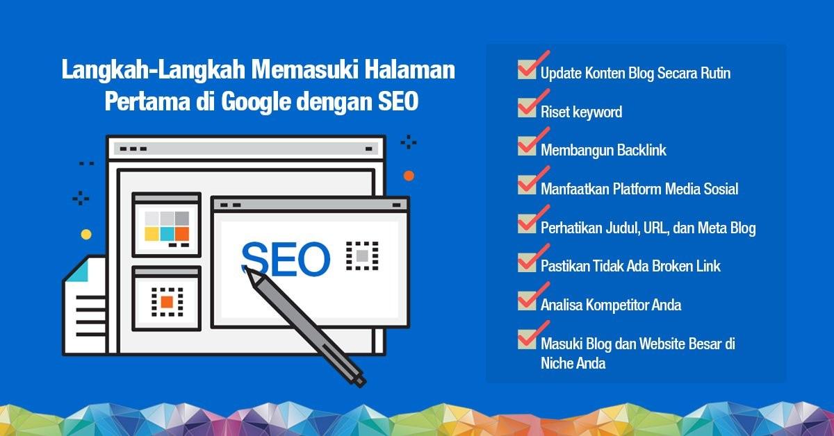 Cara Memasuki Ranking 10 Besar di Google dengan SEO
