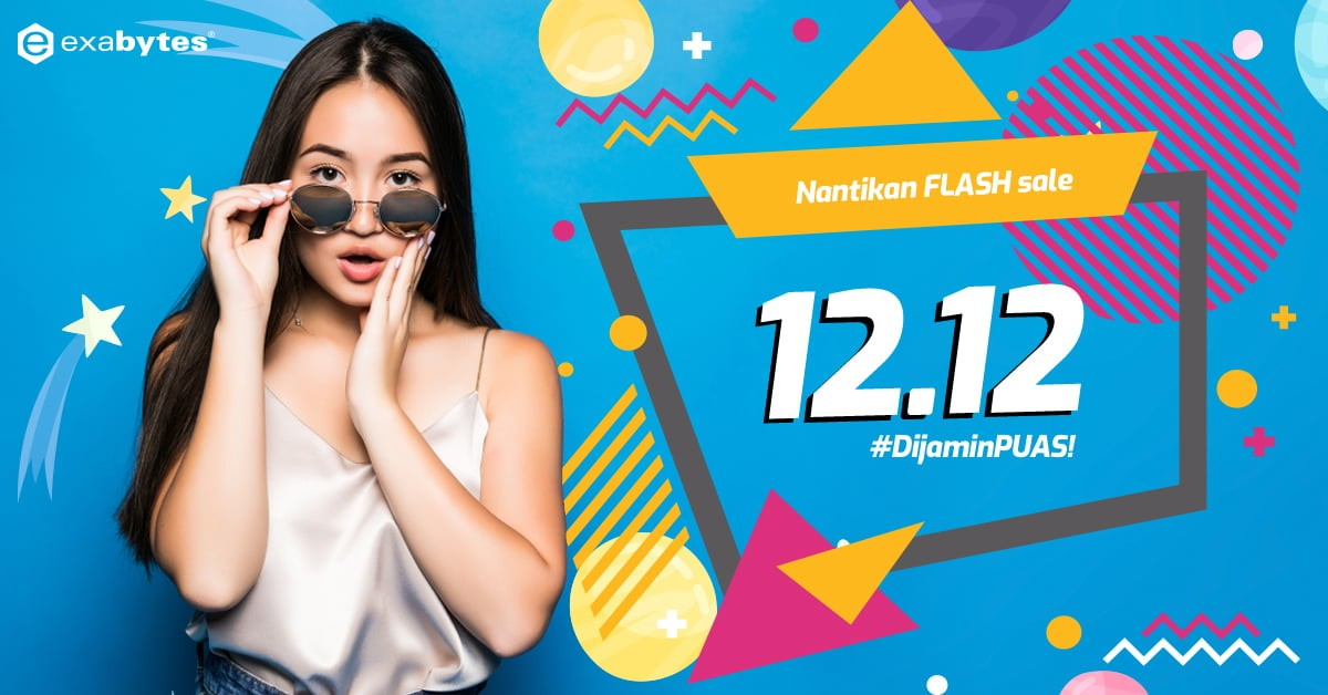 Flash Sale 12.12 #DijaminPuas
