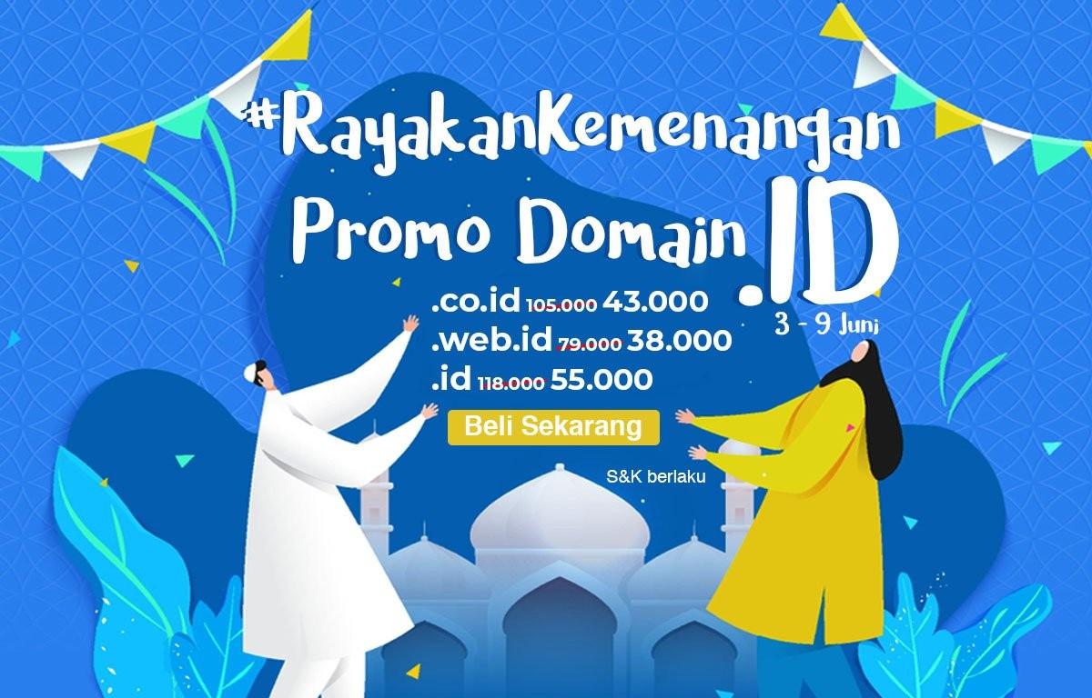 #RayakanKemenangan dengan Promo Domain .ID