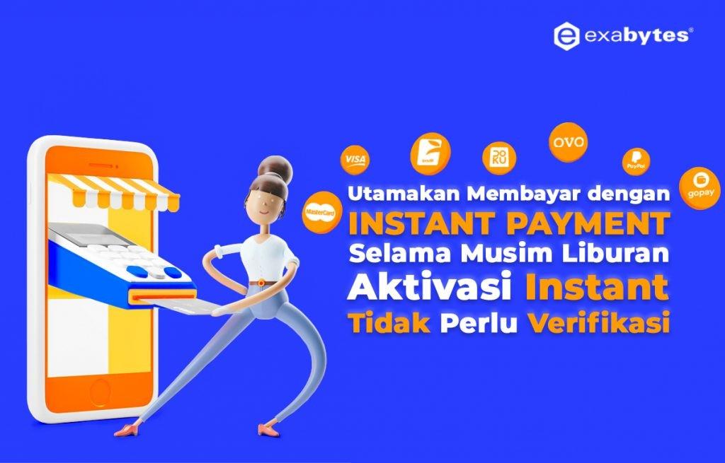 ⚠ Pengumuman Penting! Utamakan Gunakan Instan Payment di Musim Liburan