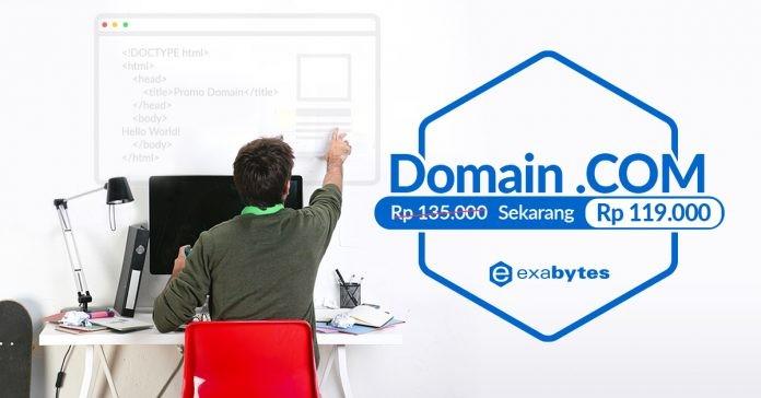Harga Baru Domain .COM