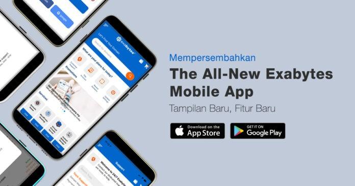 Aplikasi Mobile Exabytes