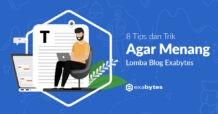 Tips Agar Menang Lomba Blog