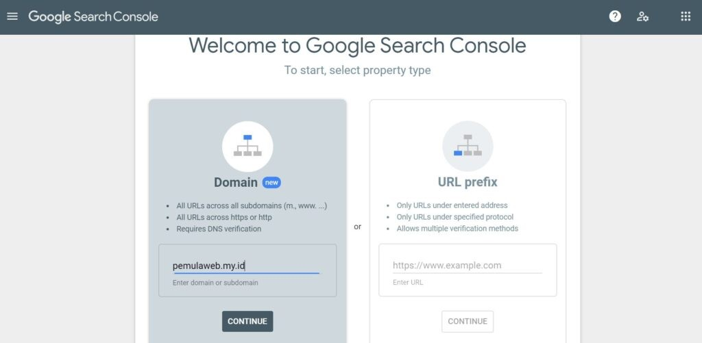 Cara Mendaftarkan Website ke Google Search Console