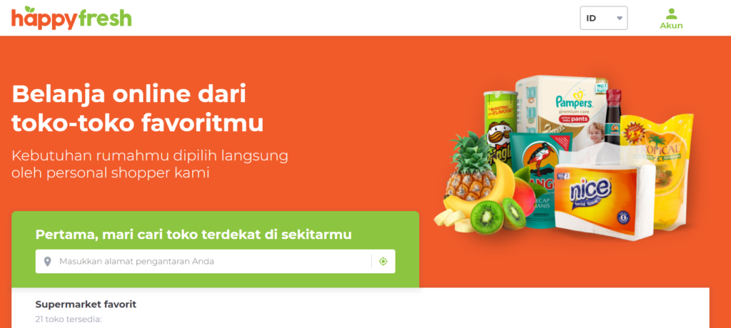 E-Commerce Happy Fresh