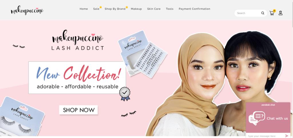 E-Commerce Makeupuccino