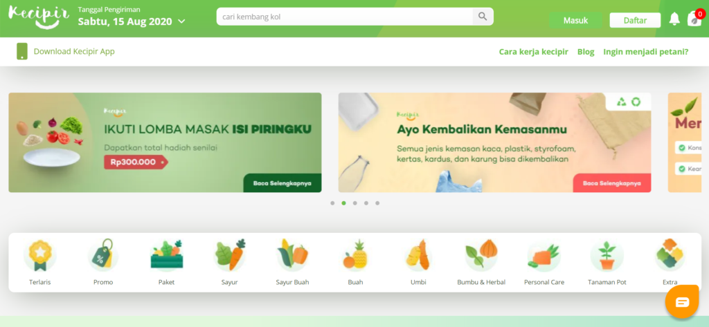 E-Commerce Kecipir