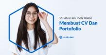 15 Situs dan Tools Online Untuk Membuat CV dan Portofolio
