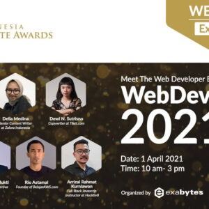 Web Developer Talk X Indonesia Website Awards