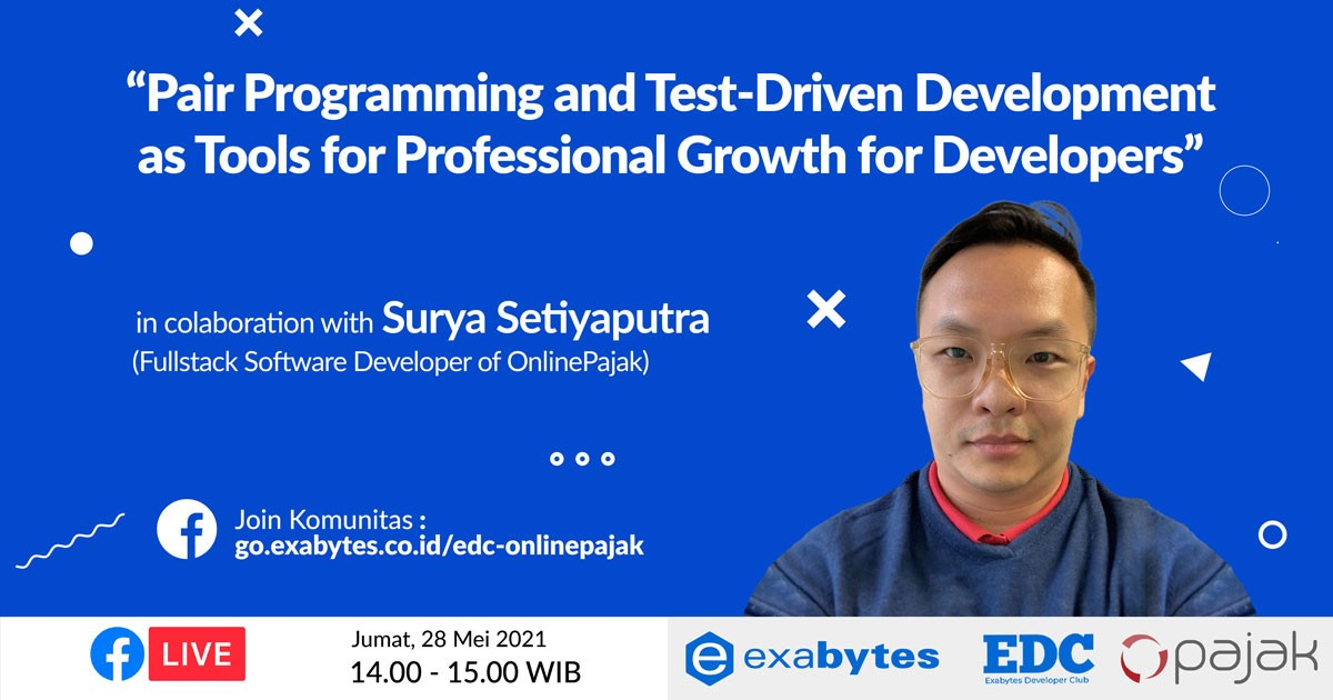 Pair Programming and Test-Driven Development as Tools for Professional Growth for Developers