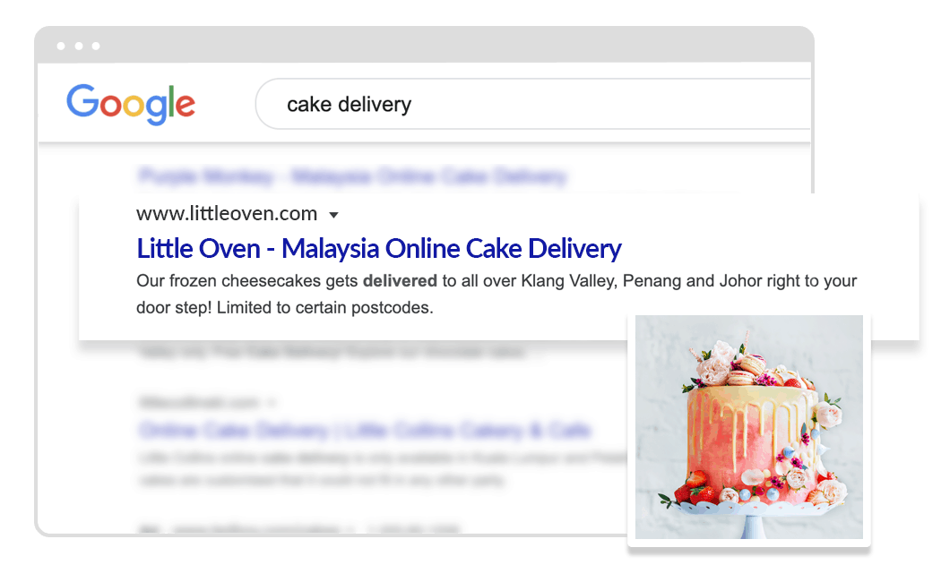 1050x650 cake delivery