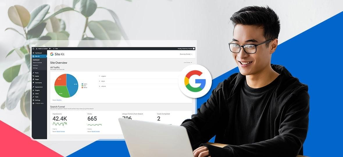 Web Google Site Kit Section
